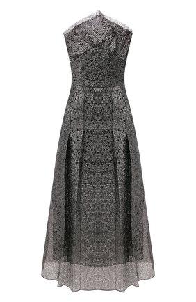 Женское платье-миди ROLAND MOURET серебряного цвета, арт. PS20/S0869/F0300   Фото 1
