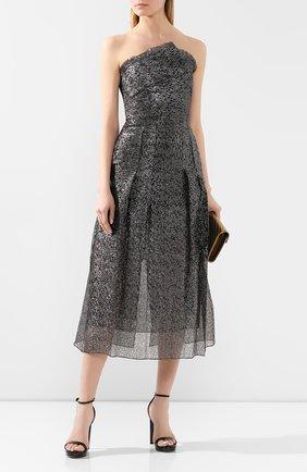 Женское платье-миди ROLAND MOURET серебряного цвета, арт. PS20/S0869/F0300   Фото 2