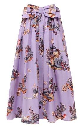 Женская хлопковая юбка VIVETTA сиреневого цвета, арт. 20E V2M0/C101/0133 | Фото 1
