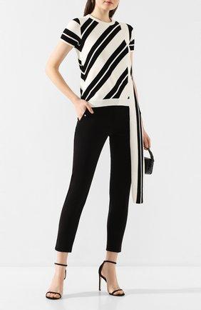 Женские джинсы NO. 21 черного цвета, арт. 20E N2P0/B011/0414 | Фото 2