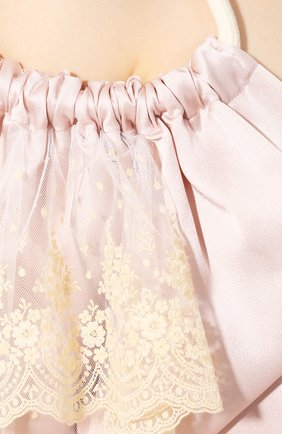 Женское платье-миди ACT N1 розового цвета, арт. RD2003   Фото 5 (Рукава: Длинные; Случай: Повседневный; Материал внешний: Синтетический материал; Длина Ж (юбки, платья, шорты): Миди; Статус проверки: Проверена категория)