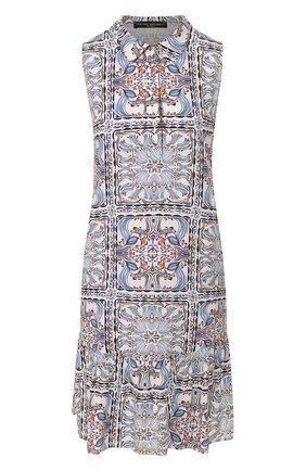 Женское платье с принтом PIETRO BRUNELLI разноцветного цвета, арт. AM0162/VI0058   Фото 1