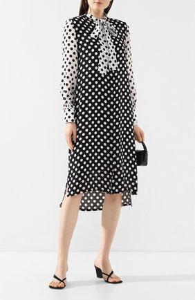 Женское платье в горох ESCADA SPORT черно-белого цвета, арт. 5032453 | Фото 2
