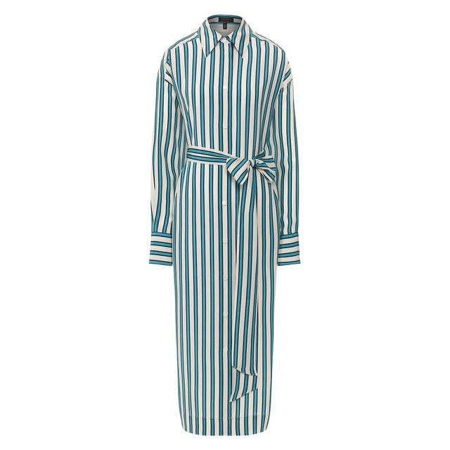 Шелковое платье Escada
