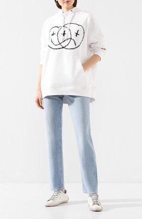 Женские джинсы PAIGE голубого цвета, арт. 6211B61-7485 | Фото 2