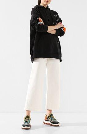 Женские джинсы PAIGE белого цвета, арт. 5847B58-7720 | Фото 2