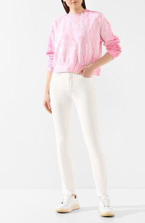 Женские джинсы PAIGE белого цвета, арт. 5675208-7421 | Фото 2