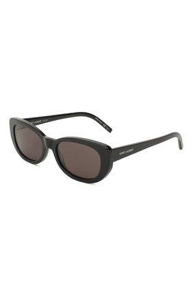 Женские солнцезащитные очки SAINT LAURENT черного цвета, арт. SL 316 001 | Фото 1