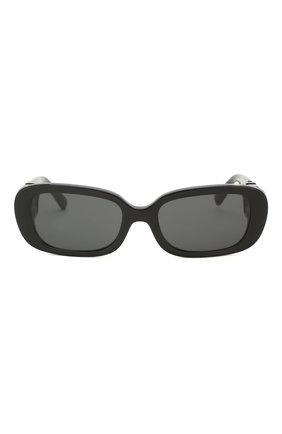 Женские солнцезащитные очки VALENTINO черного цвета, арт. 4067-500187 | Фото 3