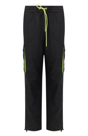 Мужской брюки-карго ICEBERG черного цвета, арт. 20E I1P0/B110/5522   Фото 1