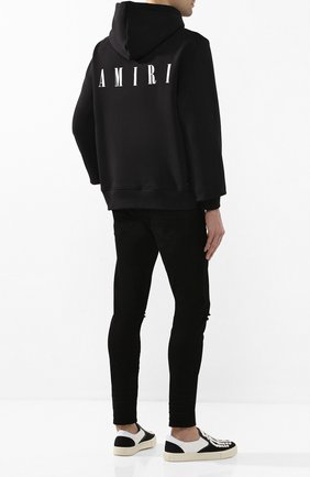 Мужские джинсы AMIRI черного цвета, арт. Y0M01393SD | Фото 2