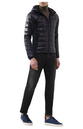 Мужская пуховая куртка hybridge lite CANADA GOOSE синего цвета, арт. 2703M   Фото 2