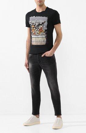 Мужские джинсы 2 MEN JEANS серого цвета, арт. MARC0/Y495R | Фото 2