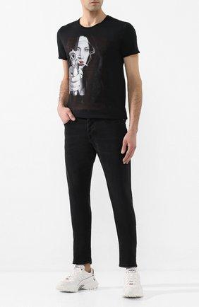 Мужские джинсы 2 MEN JEANS темно-серого цвета, арт. MARC0/Y493T | Фото 2