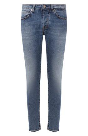 Мужские джинсы 2 MEN JEANS синего цвета, арт. MARC0/Y43M6 | Фото 1