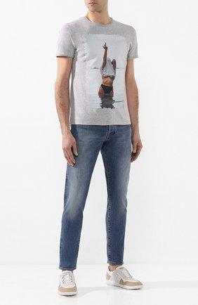 Мужские джинсы 2 MEN JEANS синего цвета, арт. MARC0/Y43M6 | Фото 2