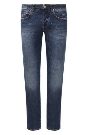 Мужские джинсы 2 MEN JEANS синего цвета, арт. GIULIAN0/Y433M | Фото 1
