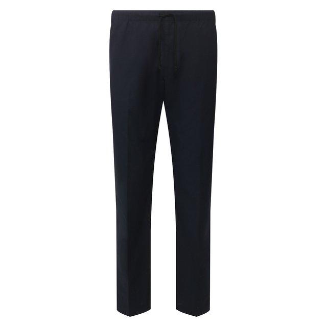 Хлопковые брюки Dries Van Noten.