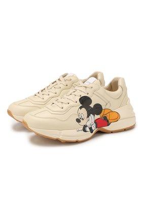 Кроссовки Rhyton Disney x Gucci | Фото №1