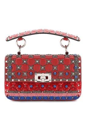 Женский сумка valentino garavani spike.it VALENTINO красного цвета, арт. TW2B0123/BZC   Фото 1