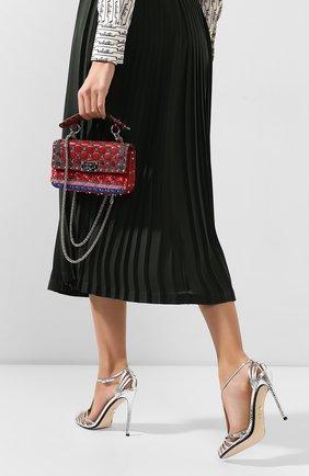 Женский сумка valentino garavani spike.it VALENTINO красного цвета, арт. TW2B0123/BZC   Фото 2