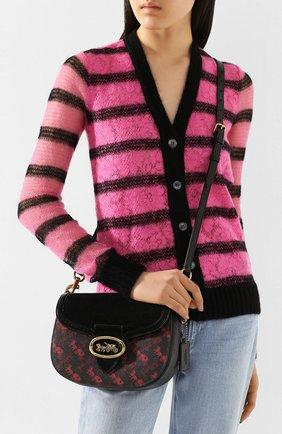 Женская сумка kat COACH черного цвета, арт. 88249 | Фото 2