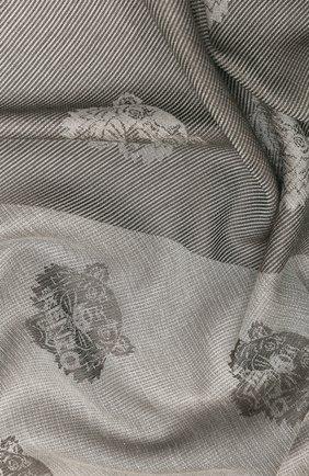 Женский платок KENZO серого цвета, арт. FA58EU543JFC | Фото 2