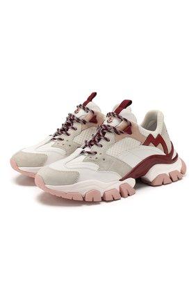 Кожаные кроссовки Leave no trace | Фото №1