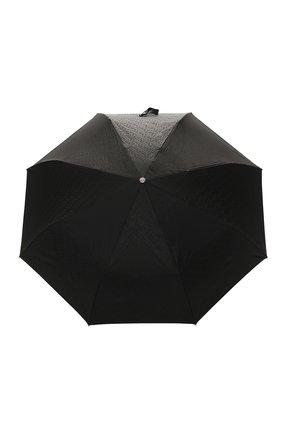 Мужской складной зонт BURBERRY черного цвета, арт. 8024788 | Фото 1 (Материал: Синтетический материал, Текстиль)