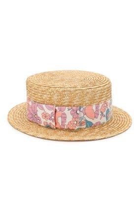 Детская шляпа CHLOÉ разноцветного цвета, арт. C11170 | Фото 1