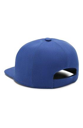 Детская хлопковая бейсболка GIVENCHY синего цвета, арт. H21031 | Фото 2