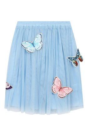 Детская юбка CHARABIA голубого цвета, арт. S13002   Фото 2