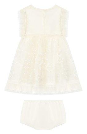 Шелковое платье с шортами | Фото №2
