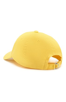 Детская хлопковая бейсболка POLO RALPH LAUREN желтого цвета, арт. 313788942 | Фото 2
