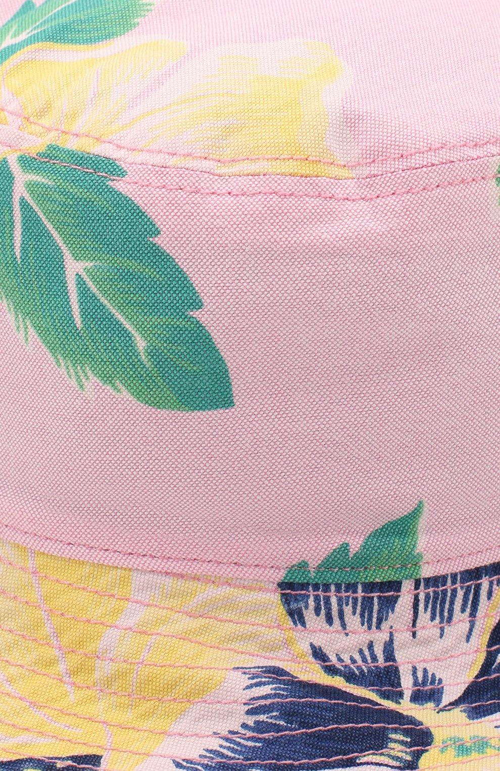Детская хлопковая панама POLO RALPH LAUREN разноцветного цвета, арт. 322785658   Фото 3