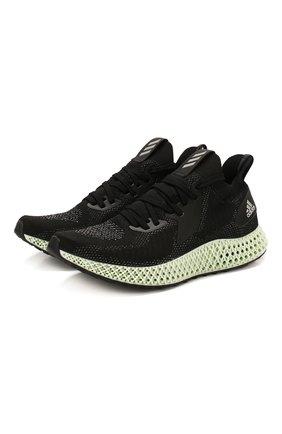 Мужские кроссовки alphaedge 4d reflective ADIDAS черного цвета, арт. FV4686   Фото 1