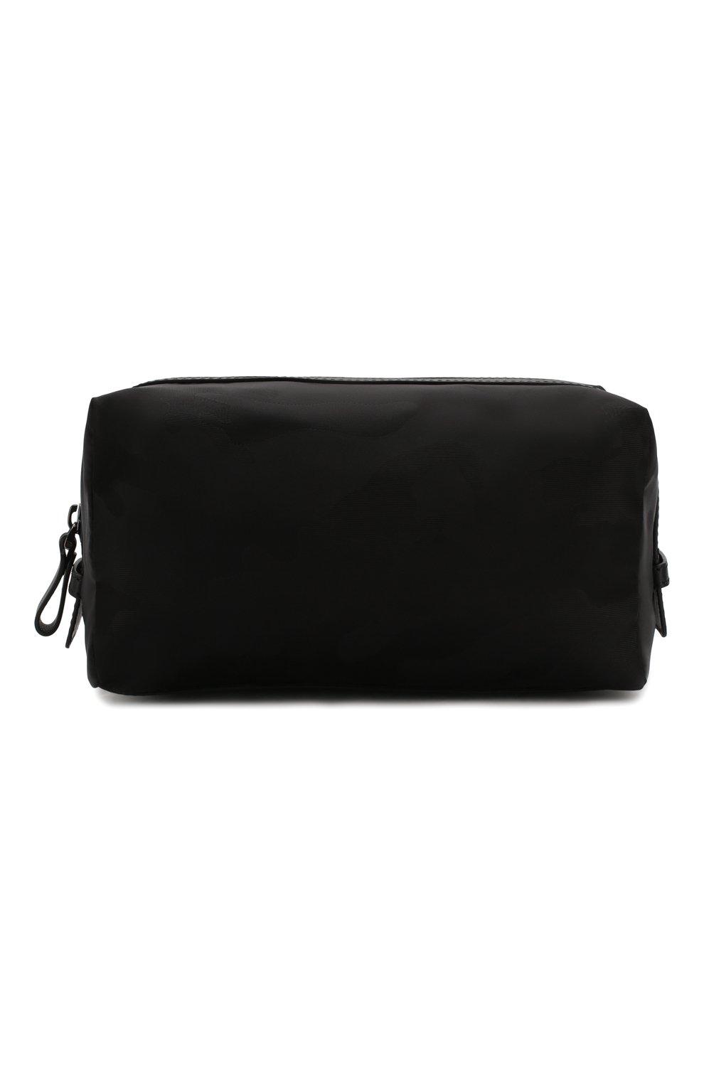 Мужской текстильный несессер  VALENTINO черного цвета, арт. TY2P0484/NAK | Фото 1 (Материал: Текстиль)