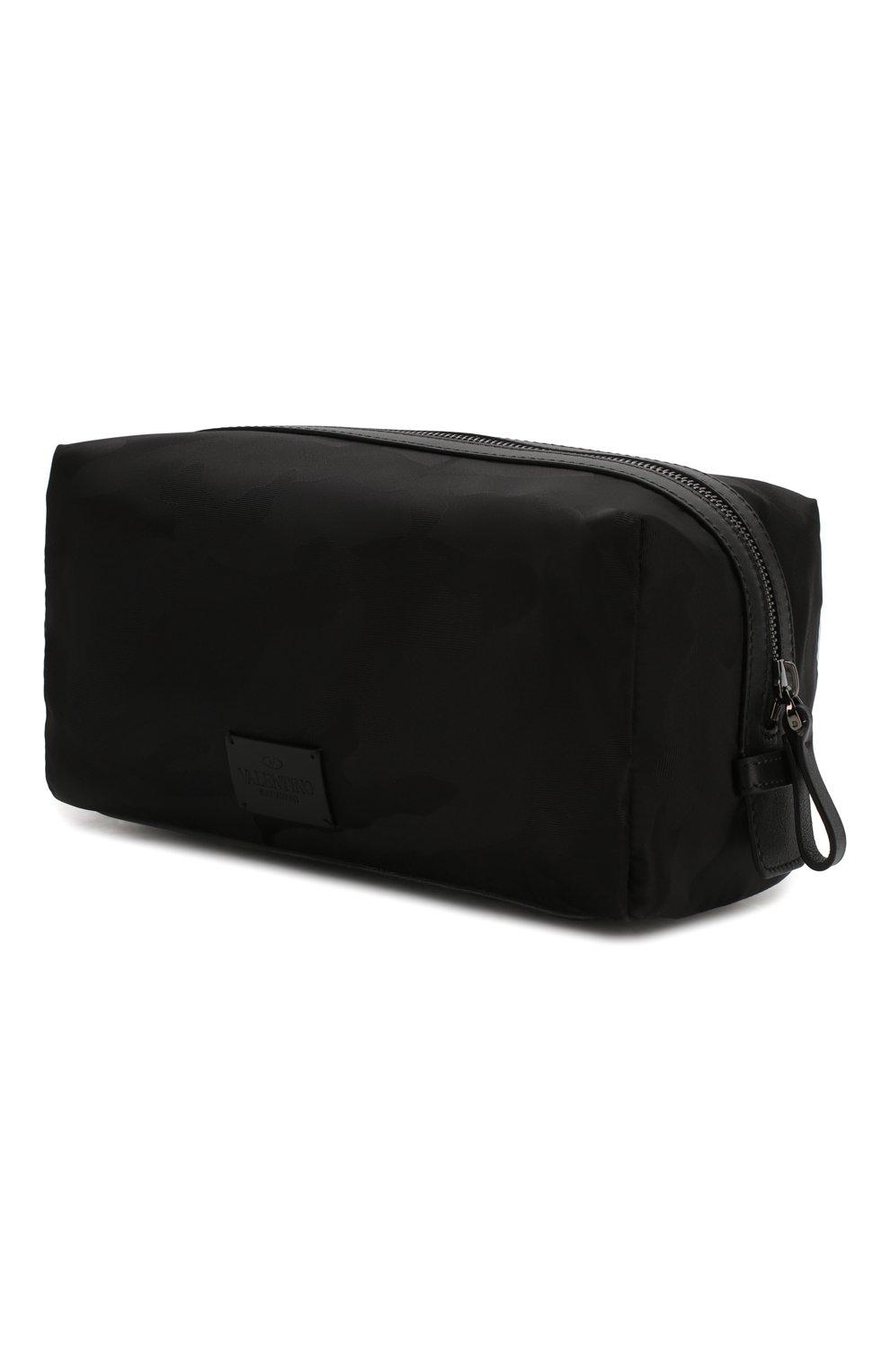 Мужской текстильный несессер  VALENTINO черного цвета, арт. TY2P0484/NAK | Фото 2 (Материал: Текстиль)