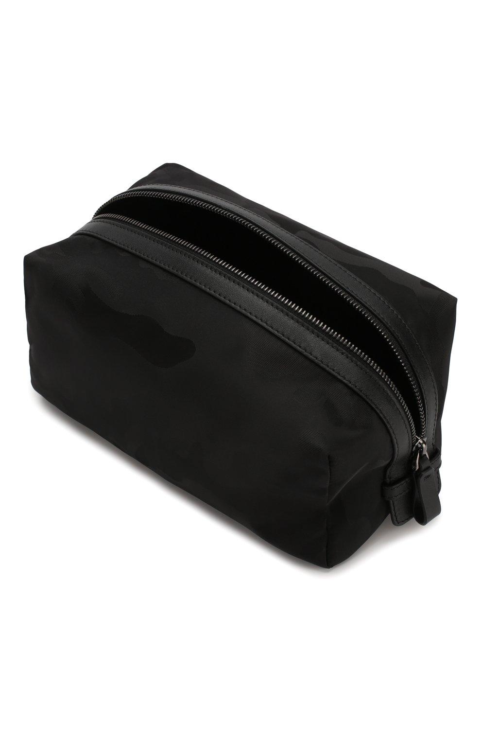 Мужской текстильный несессер  VALENTINO черного цвета, арт. TY2P0484/NAK | Фото 3 (Материал: Текстиль)