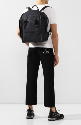 Мужской текстильный рюкзак edge DOLCE & GABBANA синего цвета, арт. BM1799/AJ909 | Фото 2