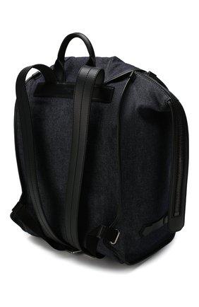 Мужской текстильный рюкзак edge DOLCE & GABBANA синего цвета, арт. BM1799/AJ909 | Фото 3