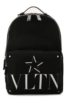 Мужской текстильный рюкзак valentino garavani vltnstar VALENTINO черного цвета, арт. TY2B0340/MFG | Фото 1