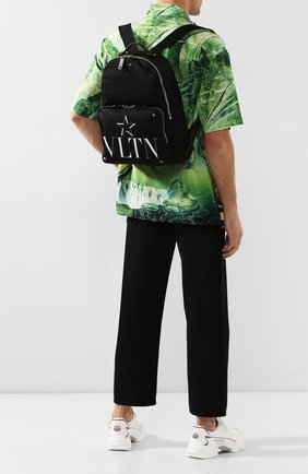 Мужской текстильный рюкзак valentino garavani vltnstar VALENTINO черного цвета, арт. TY2B0340/MFG | Фото 2