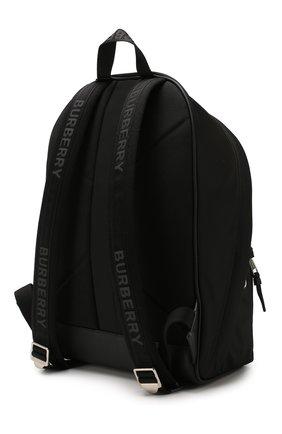 Мужской текстильный рюкзак BURBERRY черного цвета, арт. 8021084 | Фото 3