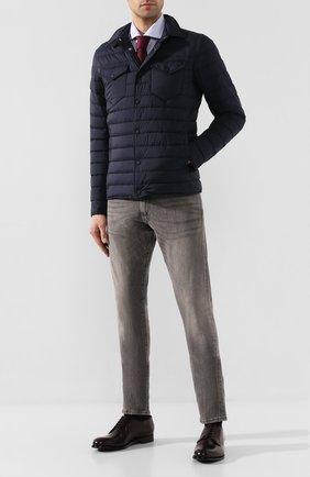 Мужской кожаные дерби SILVANO SASSETTI бордового цвета, арт. S1PLAT0415GR0ISBURG | Фото 2