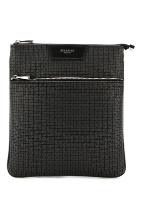 Мужская сумка-планшет SERAPIAN темно-серого цвета, арт. SSTEPMML6794M23C | Фото 1