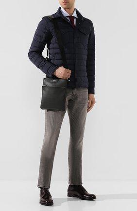Мужская сумка-планшет SERAPIAN темно-серого цвета, арт. SSTEPMML6794M23C | Фото 2