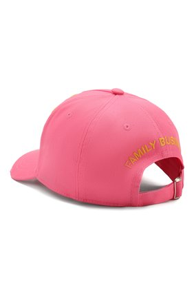 Мужской хлопковая бейсболка DSQUARED2 розового цвета, арт. BCM0307 05C00001 | Фото 2