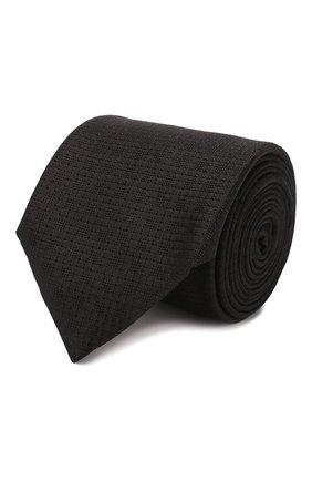 Мужской шелковый галстук ETON черного цвета, арт. A000 32260 | Фото 1