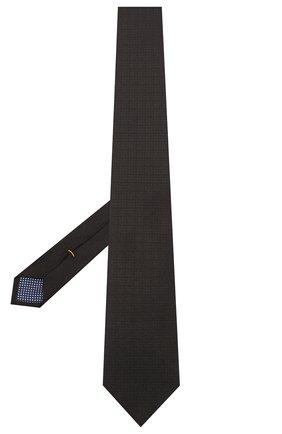 Мужской шелковый галстук ETON черного цвета, арт. A000 32260 | Фото 2